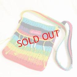 画像1: Crochet shoulder Bag / remake (鍵針編みショルダーバッグ/リメイク)
