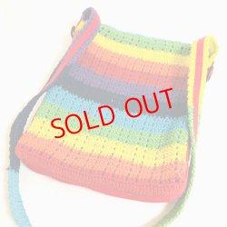 画像2: Crochet shoulder Bag / remake (鍵針編みショルダーバッグ/リメイク)