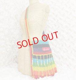 画像4: Crochet shoulder Bag / remake (鍵針編みショルダーバッグ/リメイク)