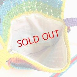画像3: Crochet shoulder Bag / remake (鍵針編みショルダーバッグ/リメイク)